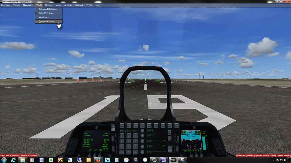 MegaSceneryEarth > How To Manually Add To Prepar3D Version 4 Scenery