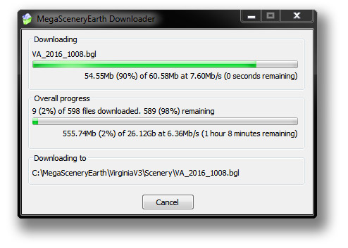 MegaSceneryEarth > New One Click Installer And Downloader